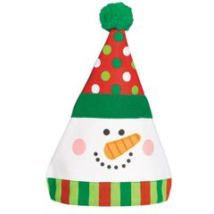 Whimsical Snowman Hat