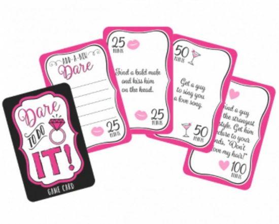 Team Bride Dare to Do It Bachelorette Party Game