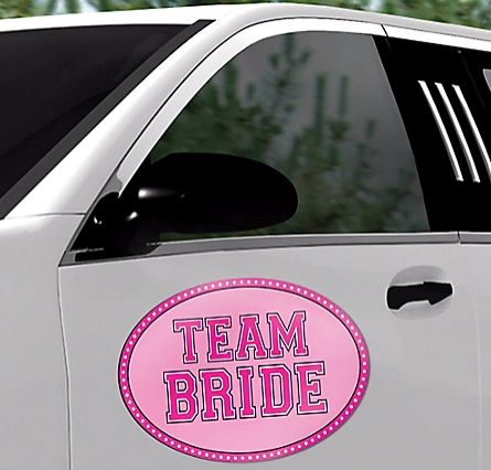Team Bride Car Magnet