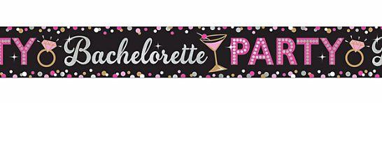 Bachelorette Party Foil Banner, 25ft