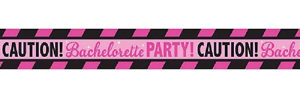 Bachelorette Party Caution Tape, 30ft