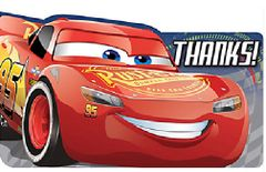 ©DISNEY CARS 3 Postcard Thank You Notes, 8ct