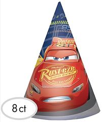 ©DISNEY CARS 3 Paper Cone Hats
