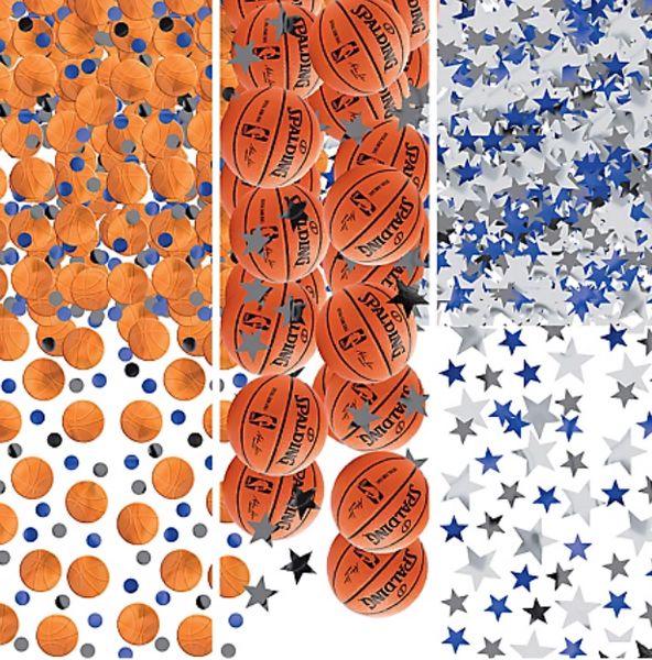 Spalding Basketball Confetti