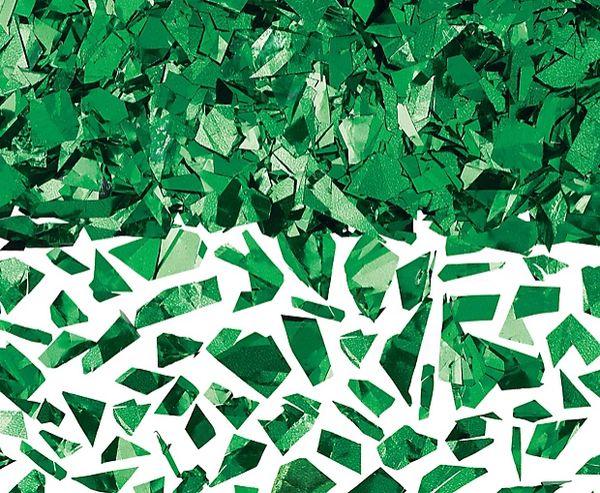 Green Sparkle Foil Confetti