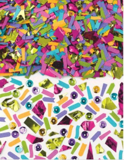 Brights Mixed Media Confetti