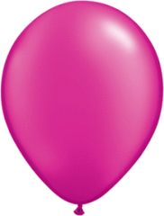 "PEARLIZED 08 MAGENTA, QUALATEX 11"" LATEX BALLOON 