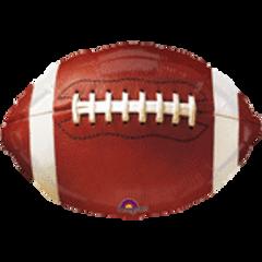 "Football Foil Balloon 18"""