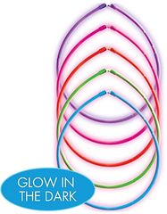 "22"" Glow Necklace Value Pack - Multi Color, 5ct"