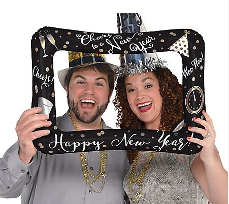 New Year's Inflatable Frame