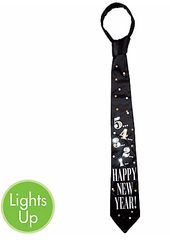 New Year's Light-Up Countdown Tie