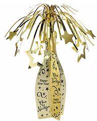 Champagne Bottle Centerpiece