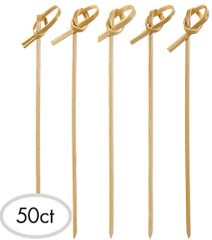 Bamboo Frill Picks, 50ct
