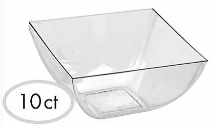 Mini Bowls - Clear, 10ct