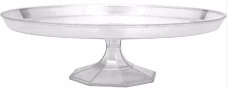 Large Dessert Stand - Clear