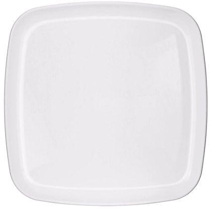 Square Platter - White