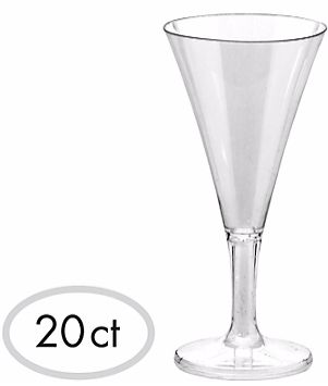 Mini Champagne Flute, 2oz - 20ct