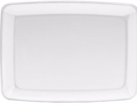 Small Serving Tray - White