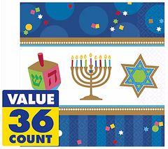 Hanukkah Celebrations Luncheon Napkins