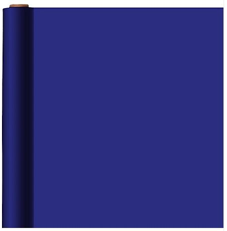 Royal Blue Solid Gift Wrap w/Hang Tab
