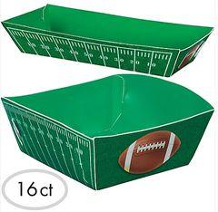 Football Food Trays
