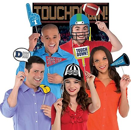 Game Day Photo Props Kit, 14pc