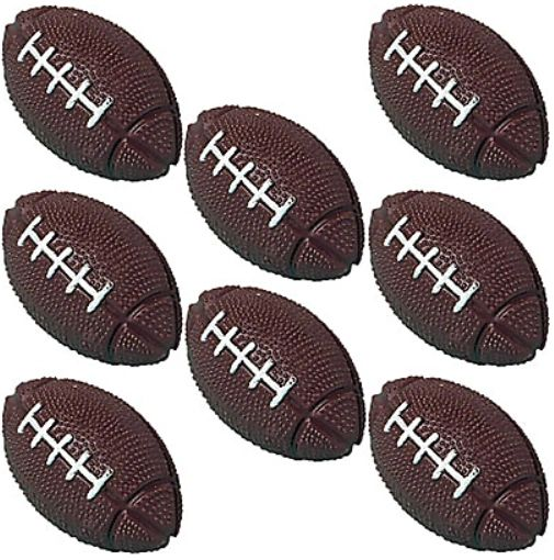 Bounce Football Favors, 8ct
