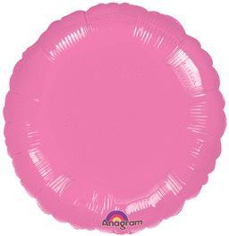 Round 29 Metallic Lavender Mylar Balloon 18in