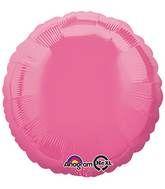 Round 35 Rose Mylar Balloon 18in