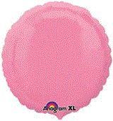 Round 36 Bubble Gum Pink Mylar Balloon 18in
