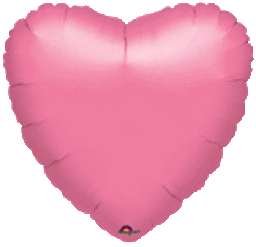 Heart 30 Metallic Lavender Mylar Balloon 18in