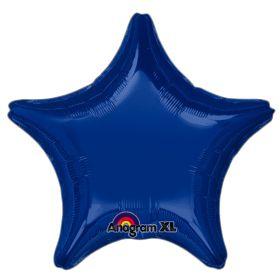 Star 24 Dark Blue Mylar Balloon 18in
