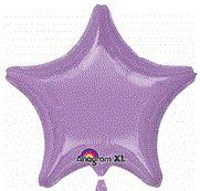 Star 29 Pearl Lavender Mylar Balloon 18in