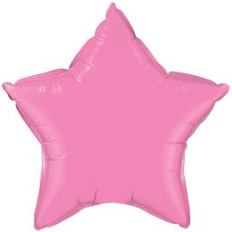 Star 35 Rose Mylar Balloon 18in