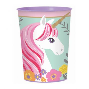 Magical Unicorn Favor Cup, 16oz