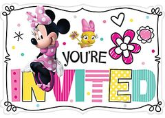 ©Disney Minnie Mouse Happy Helpers Postcard Invites, 8ct