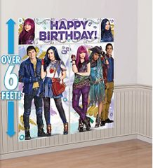 ©Disney Descendants 2 Scene Setters® Wall Decorating Kit w/Props