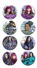 ©Disney Descendants 2 Buttons