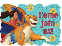 ©Disney Elena of Avalor Postcard Invitations, 8ct