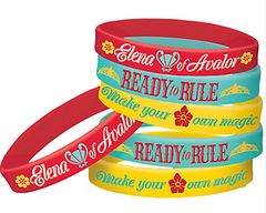 ©Disney Elena of Avalor Rubber Wristlets Favors