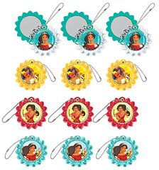 ©Disney Elena of Avalor Slide Mirror Key-Chain Favors