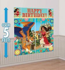 ©Disney Elena of Avalor Scene Setters® Wall Decorating Kit