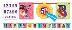 ©Disney Elena of Avalor Ribbon Letter Banner