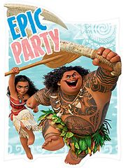 ©Disney Moana Postcard Invitations, 8ct