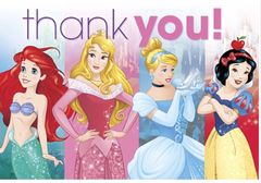 ©Disney Princess Dream Big Postcard Thank You, 8ct