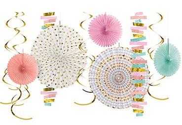 Paper & Foil Decorating Kit - Pastel, 14pc