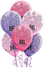 Disney Princess Dream BIG Balloons, 6ct