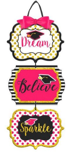 Dream, Believe, Sparkle Triple Sign