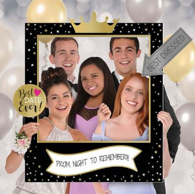 Prom Customizable Giant Selfie Frame