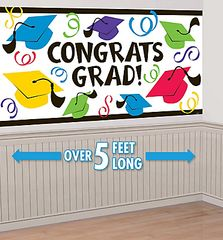 Multi Color Grad Large Banner